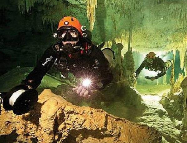 sacred mayan underwater tunnel rediscovered in yucatan