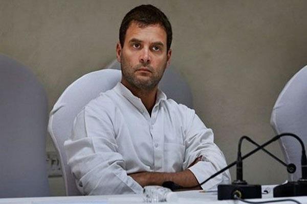 rahul gandhi opposes decision to give orange passport