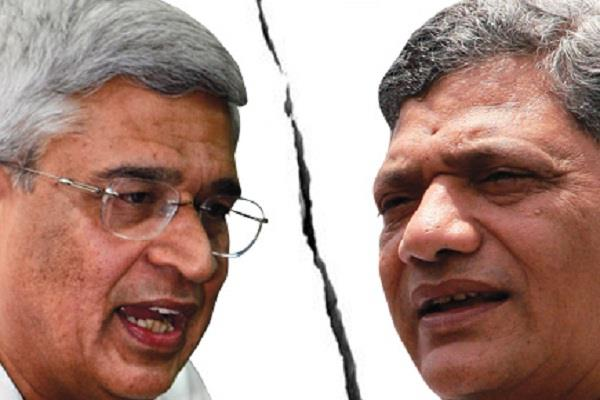 sitaram yechury quits two times in two days rejects