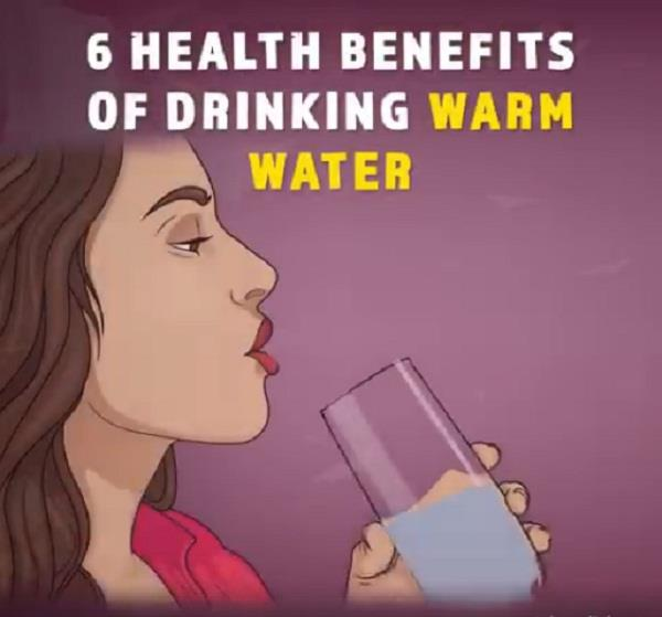 6 health benefits of drinking warm water