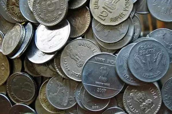 government started again the casting of coins