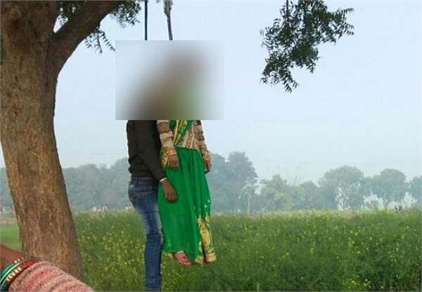 the litter of couple found hanging from the tree