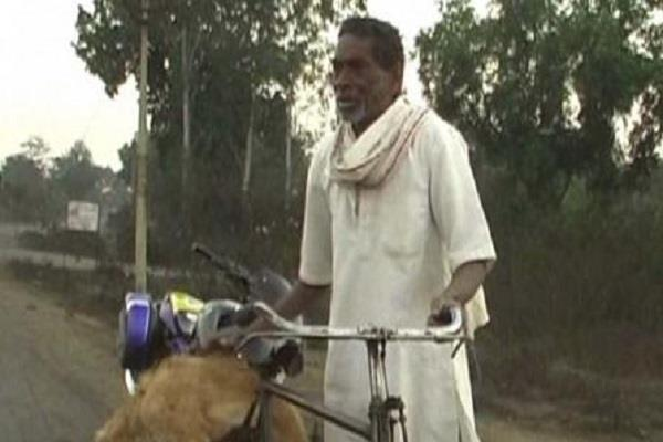 son killed pet dog father filed against fir