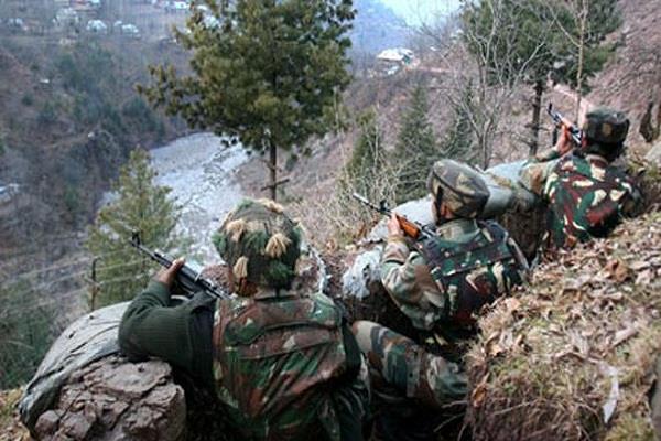 j k pakistan breaks again on loc firing in many areas