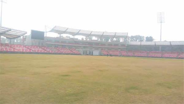 doons international cricket stadium will be considered in bcci