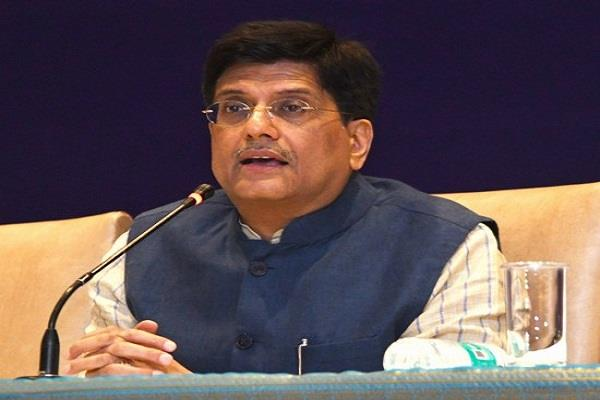 goyal on transport  energy solutions agenda during davos trip