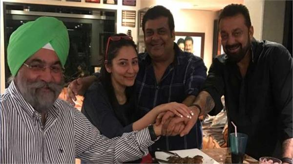 sanjay dutt organised a party for saheb biwi and gangster 3 team members