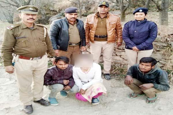 dirty work with minor girl during kidnap  2 youth arrested