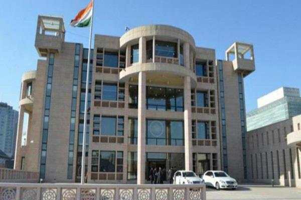 rocket dropped in indian embassy in kabul  all safe