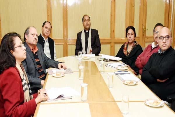 cm jayaram said need branding of handloom and handicrafts in himachal