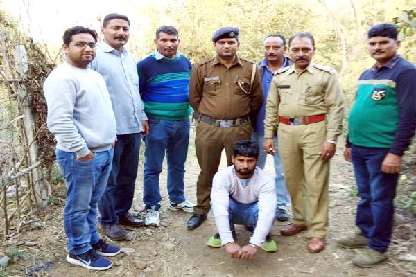 2 arrested including narcotics in palampur and bhadroya