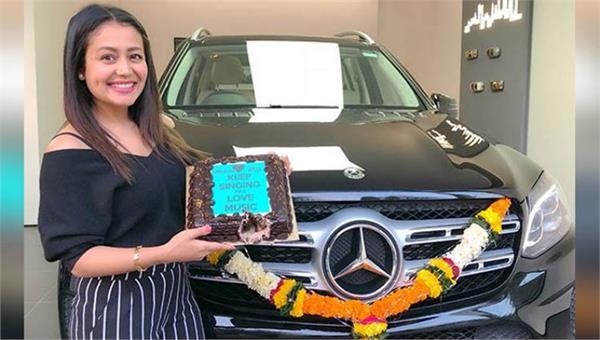 neha kakkar buys an expensive mercedes car people troll her