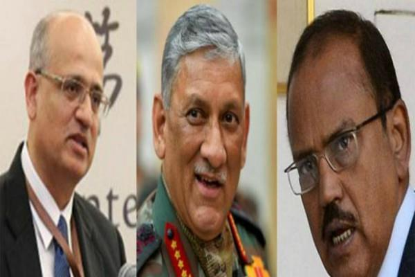 rawat doval gokhale secretly visited bhutan