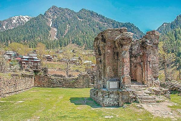 journey to maa sharda pakistan
