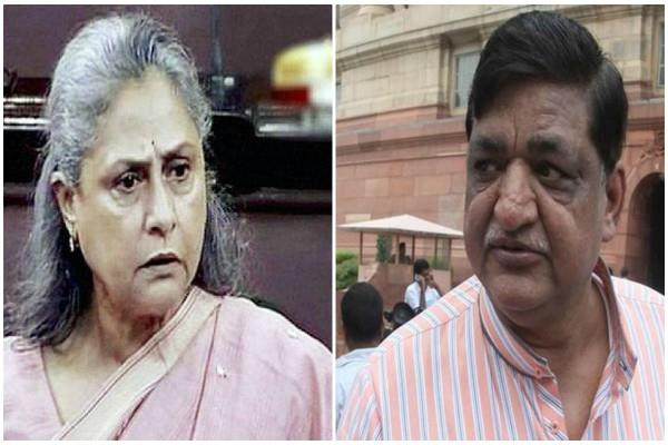 piquant political fight between jaya bachchan and naresh agrawal