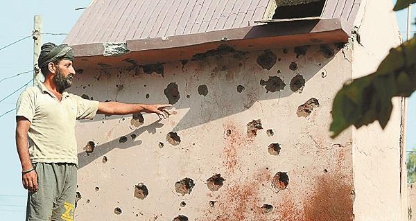 worse than 1971 pak sprayed 3 hundred shells on villages