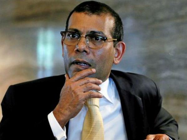 maldives former president mohamed nasheed  release