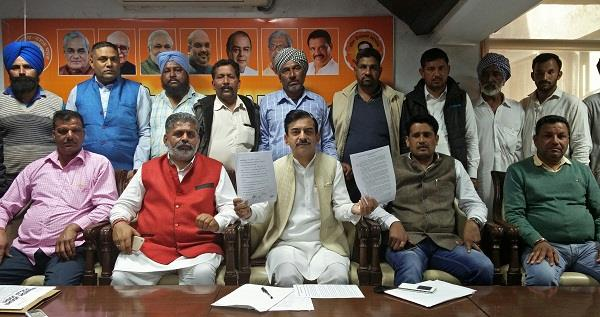 p l p a  non legal notice issued  bjp