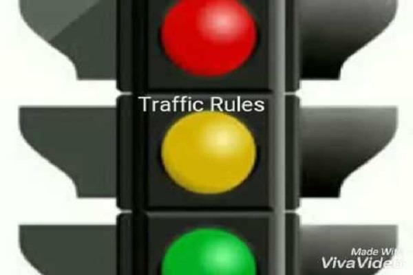 traffic rules breakers become careful startup cctv invoice