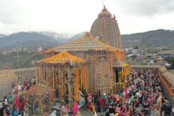 maha shivratri in baijnath temple at himachal pradesh