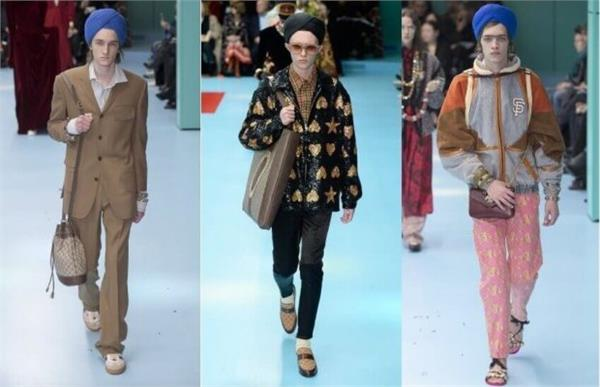 trouble worn on s in ramp show turban worn on brand