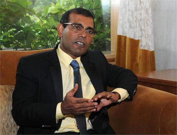india must step in to check chinese land grab rising radicalisation nasheed