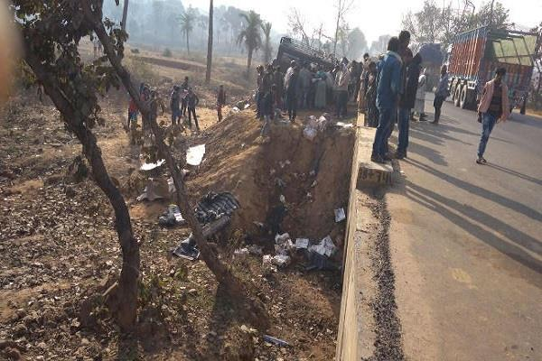 8 people died in a painful accident