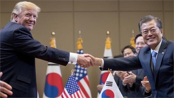 us and south korea united as inter north korea talks occur  pence