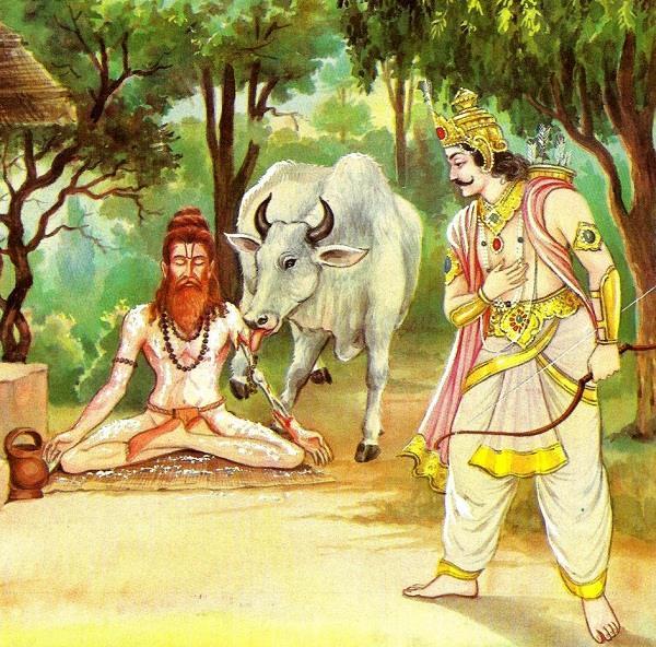 religious story of maharishi dadhichi