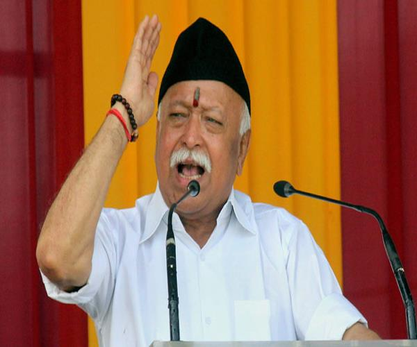 mohan bhagwat will visit kashi today on weekly tour focus on election of 2019