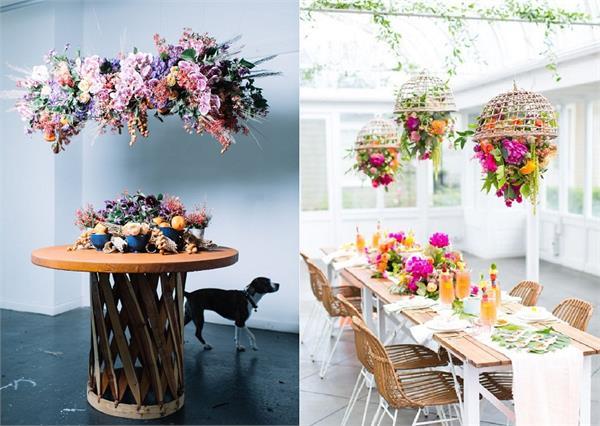 Floral Chandeliers: पार्टी या फंक्शन में ट्राई करें डिफरेंट थीम डेकोरेशन