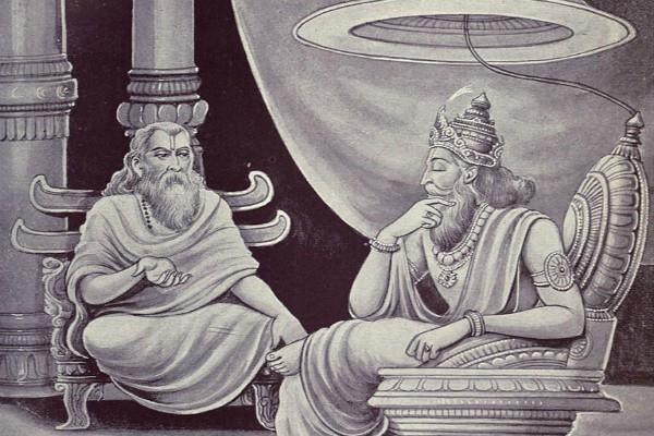 manishi vidur had told krishna about his last wish