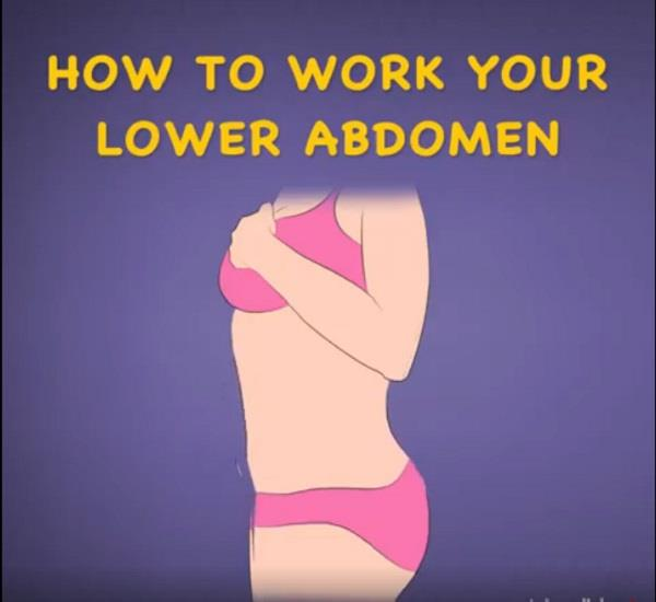 how to work your lower abdomen