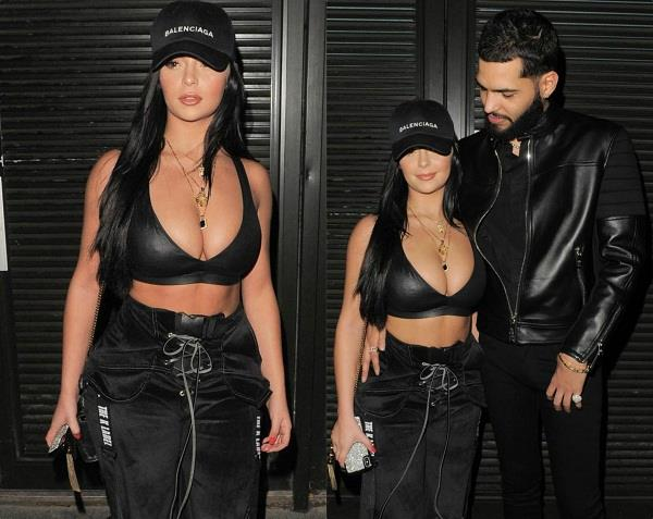 demi rose with boyfriend chris martinez latest pictures