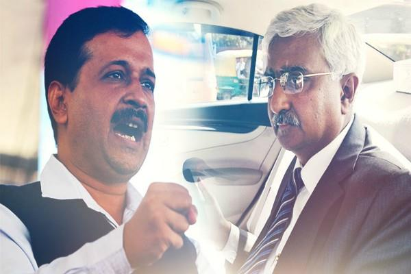 kejriwal and chief secretary will be face to face today