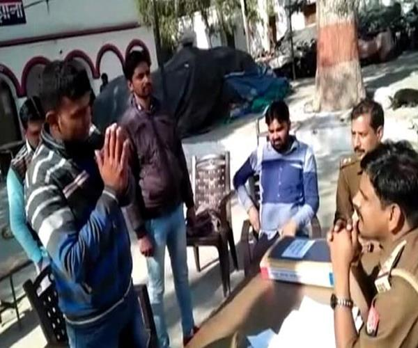 fear of encounter in up s miscreants surrender by police station
