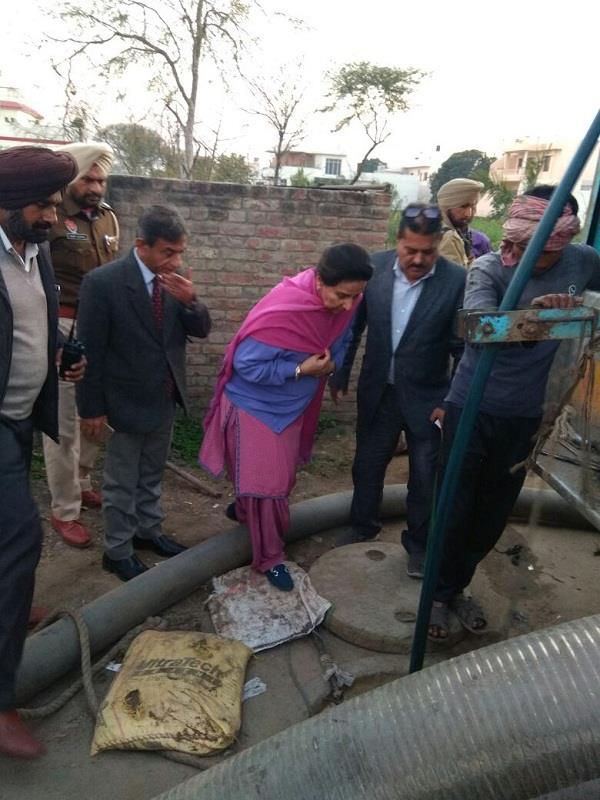 up gradation of sewerage