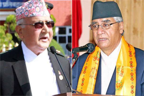 nepal sher bahadur deuba resigns k p oli next pm