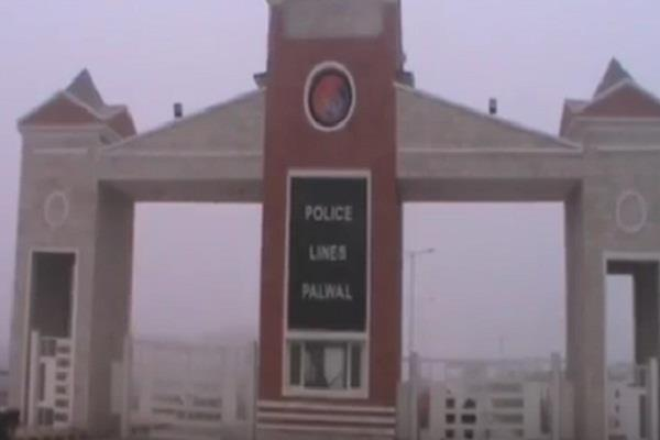 surrender in front of palwal police by the hariya