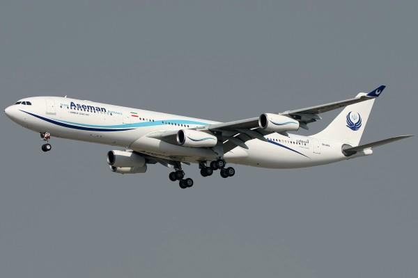 iran aseman airlines plane crashes