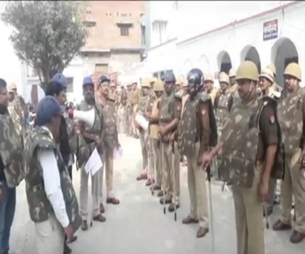 prior to holi dm sp has conducted riot control practice imposed on criminals
