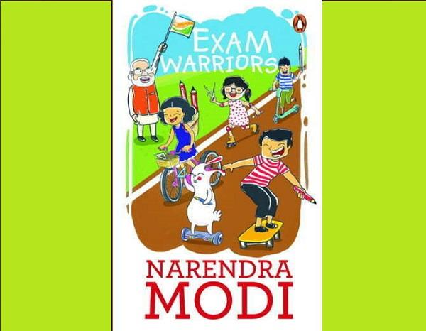 pm modi has written this book today will be launched