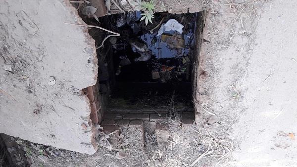 sewerage main hole