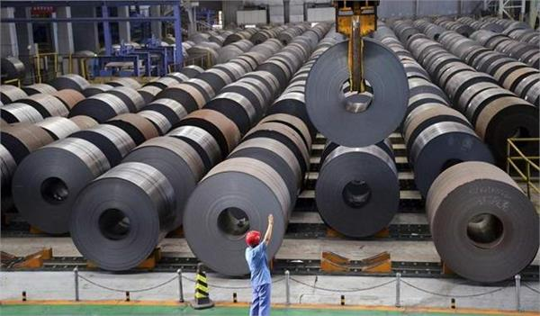 exports of finished steel in the country decreased by 30 percent