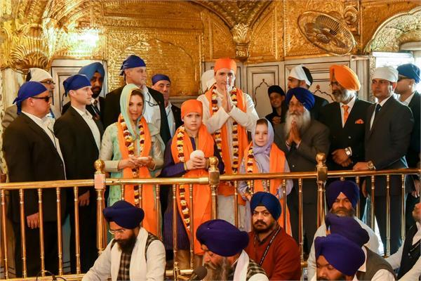 canada pm visited amritsar