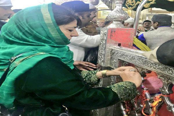mehbooba visit ajmer sharife