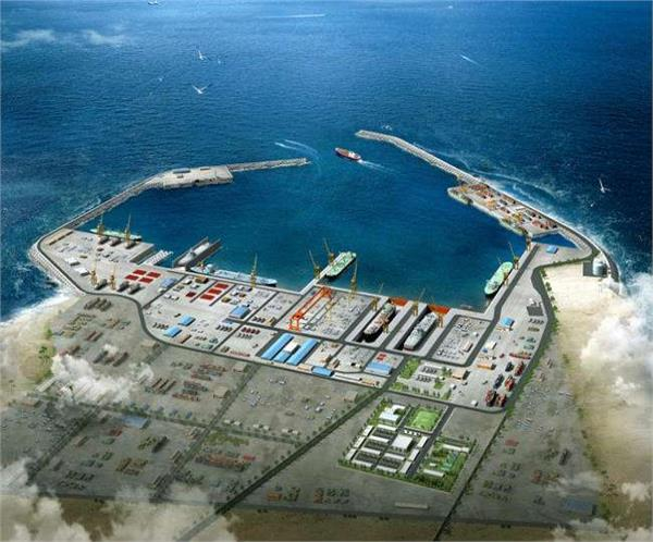 omani port will help india to check china at gwadar