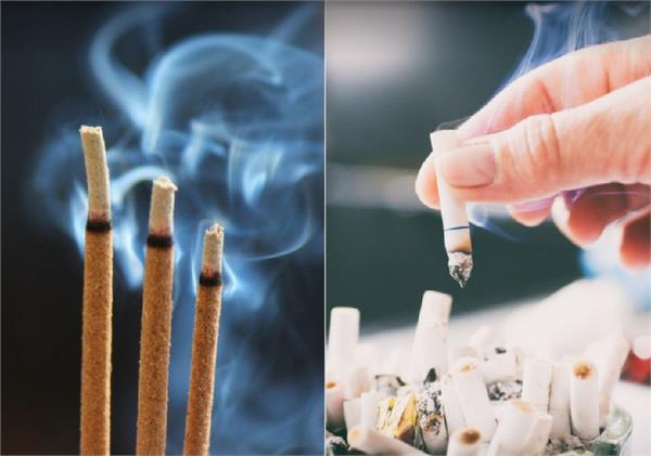 सिगरेट से भी ज्यादा खतरनाक है अगरबत्ती का धुआं, जानिए कैसे