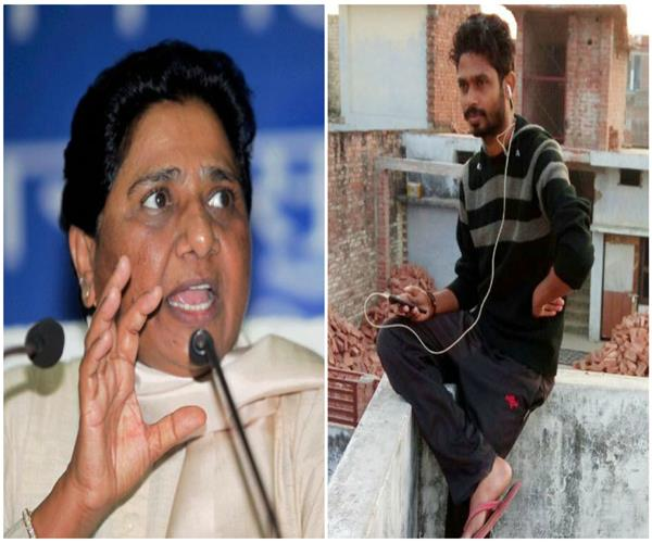 mayawati speaks murder of dalit student this in bjp rule no new events