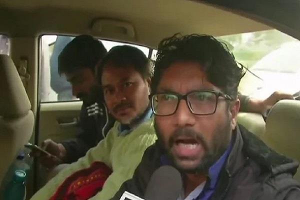 jignesh mewani in custody